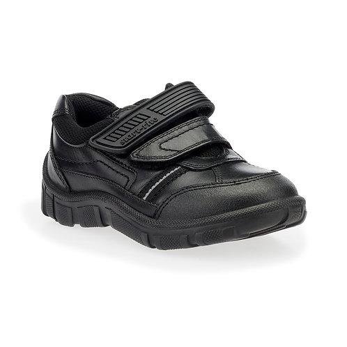 Startrite Luke Black Leather School Shoes