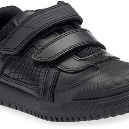 Startrite Cup Final, Black Leather School Shoe