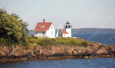 127 Curtis Island Lighthouse Camden Maine