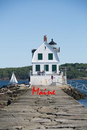 Breakwater Lighthouse Maine