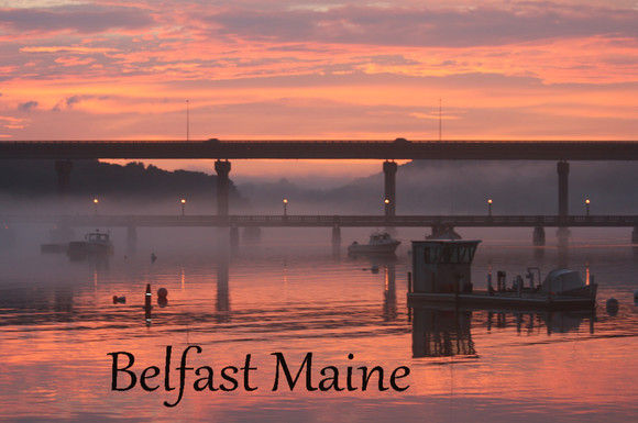 Footbridge Belfast Maine