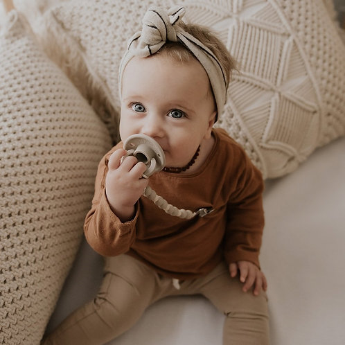 OLI pacifier TAUPE