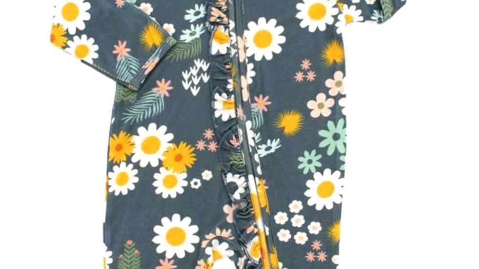 Bamboo Pajamas - Blue Daisy