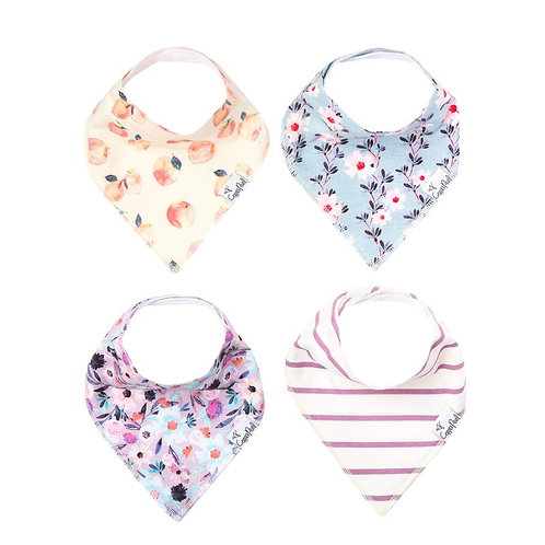 4 Pack Copper Pearl Bibs - MORGAN
