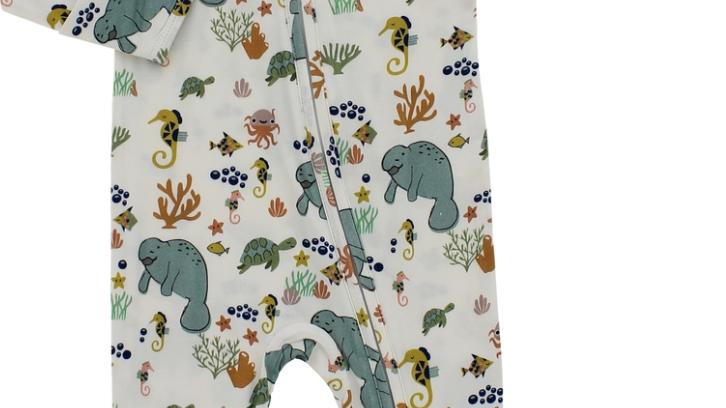 Bamboo Pajamas - Manatee