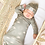 Thumbnail: Celestial Sun Bamboo Baby Gown and Hat