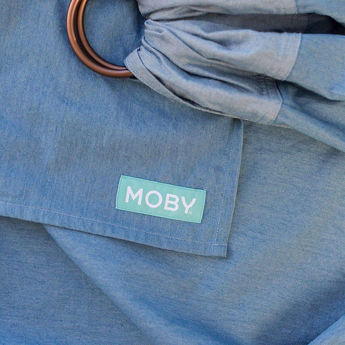 NEW Moby Ring Sling - Chambray