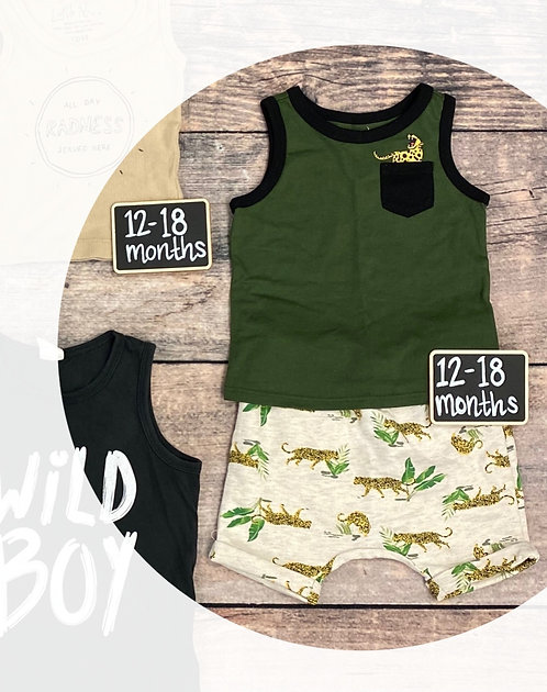 12-18M Tee and Shorts SET (Used)