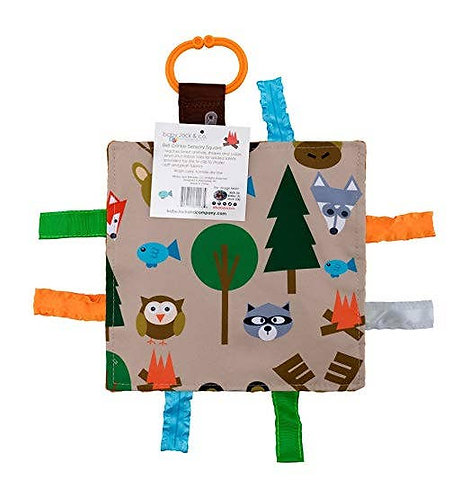 Forest Animals 8x8 Crinkle Sensory Toy