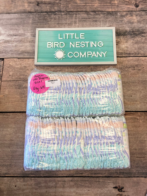 Huggies Little Swaddlers: Size 1, 64 Count