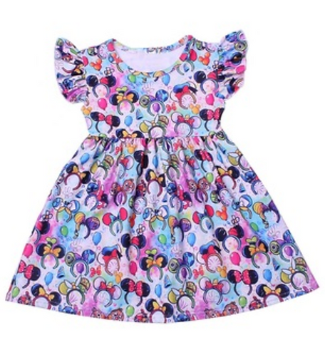 "Mouse Ears ""Milk Silk"" Dress"