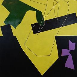 Nicolas Sanhes / 2021 / acrylique sur toile / Podgorny Robinson
