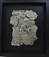 Bronze_Blanc_déchiré_H46cmL40,5cmP4,5cm-