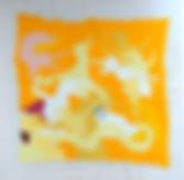 "Julian Farade ""Passions"" 110 x 110 cm  Embroideries"