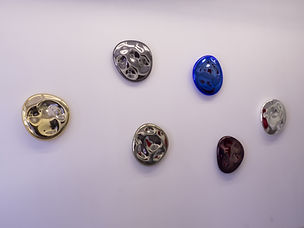 Arik Levy / Mercury / 40 x 8 cm / silvered artistic glass / *©ArikLevy / Courtesy PodgornyRobinson Gallery
