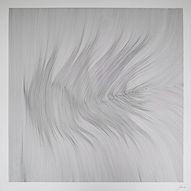 John Franzen / Each Line One Breath / 133 x 133 cm / Black Ink on 650 gr paper / 2016