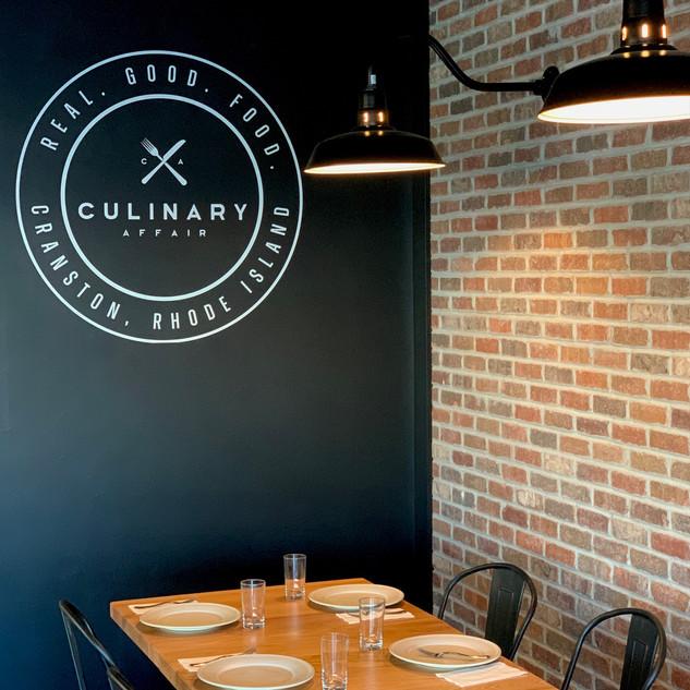 Culinary Affair Wall Logo