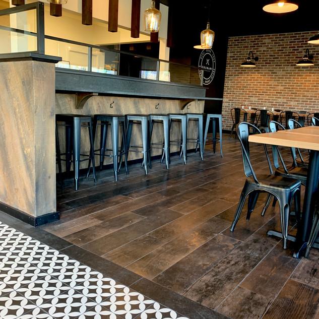 Culinary Affair Bar Stool Area