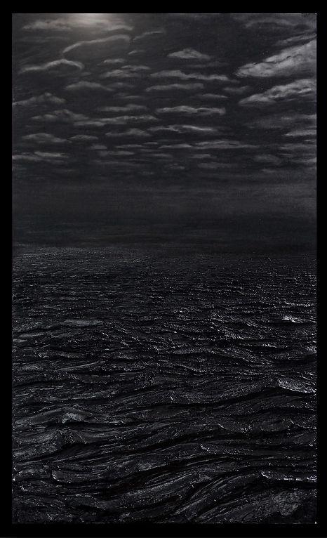 The Crossing XXVI, 162x97cm, peinture à