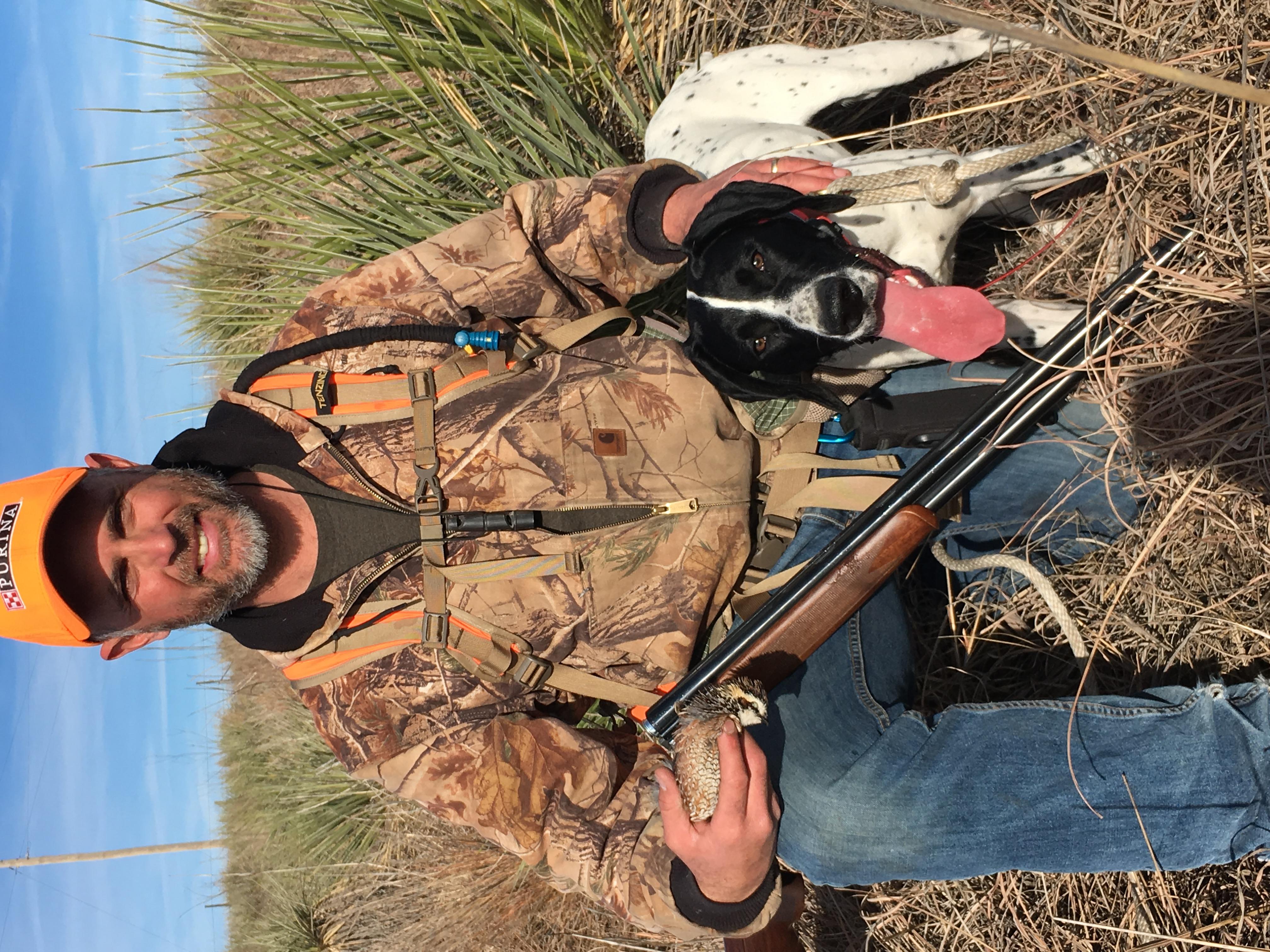 Beulah's first quail - 2017