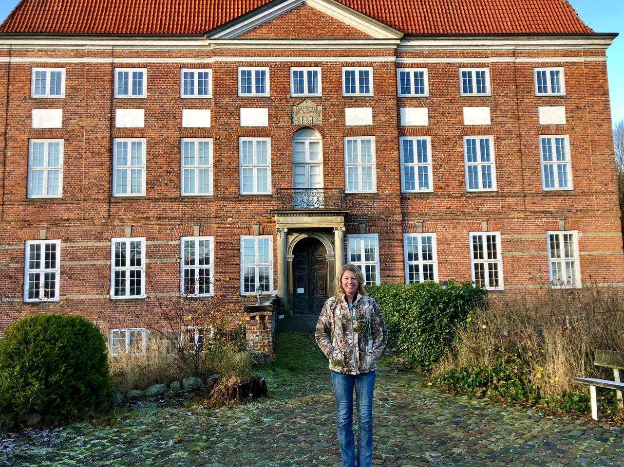 Germany - Jen, at Castle Ludwigsburg