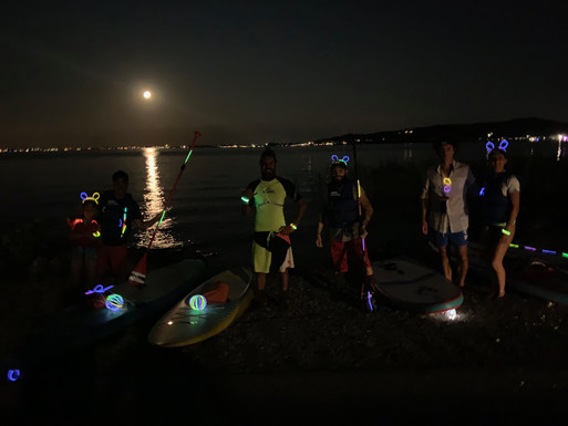 Full moon Sup Tour
