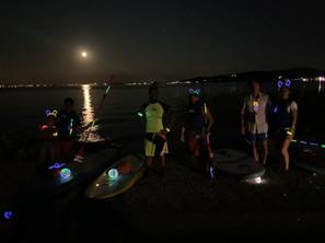 Full moon Sup Tour