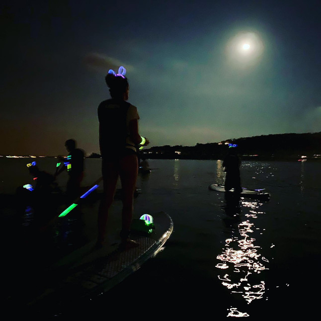 Full moon Sup
