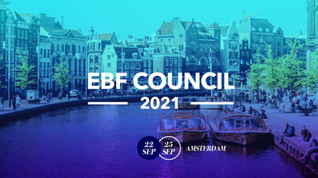 EBF Council 2021 to Take Place in Amsterdam, the Netherlands