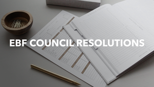 2019 | Council Resolutions