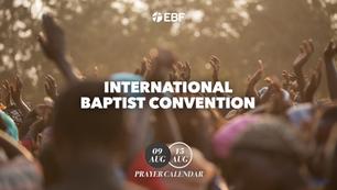 Prayer Calendar | International Baptist Convention