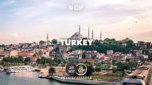 Prayer Calendar | Turkey