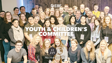 Prayer Calendar | Youth & Children's Committee