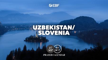 Prayer Calendar | Uzbekistan / Slovenia