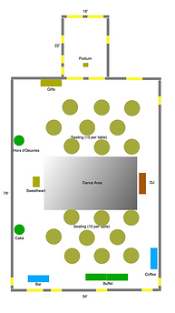 Parish Center Layout