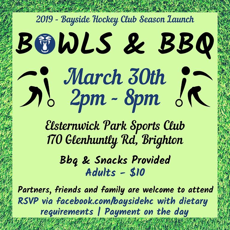 2019 - Bayside Hockey Club Season Launch