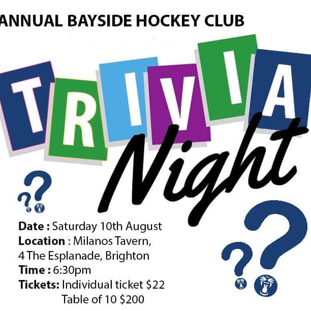 HBC Trivia Night and major fundraiser