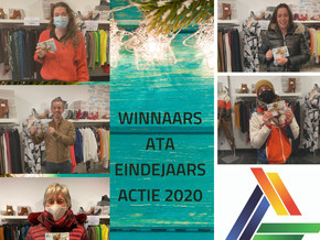 Winnaars ATA eindejaarsactie 2020