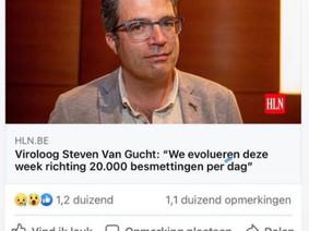 Steven Van Gucht goochelt weer met cijfers...