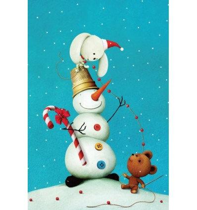 kleine sneeuwman