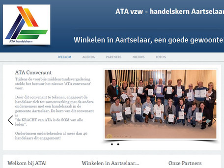 Nieuwe ATA website!