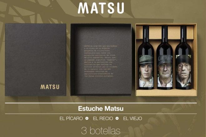 Giftbox MATSU 3 flessen