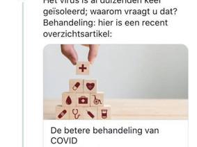 Als Marc Van Ranst eens (gedeeltelijk) transparant is, verdient dit ook een post