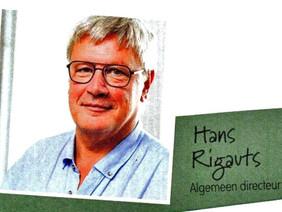 Dr. Hans Rigauts, Algemeen Directeur AZ Sint-Jan Brugge