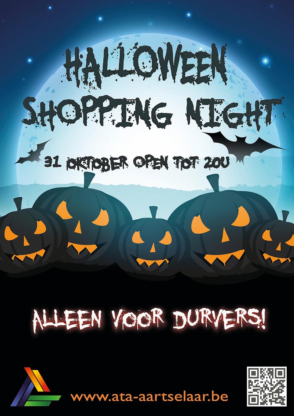 Halloween Shopping Night