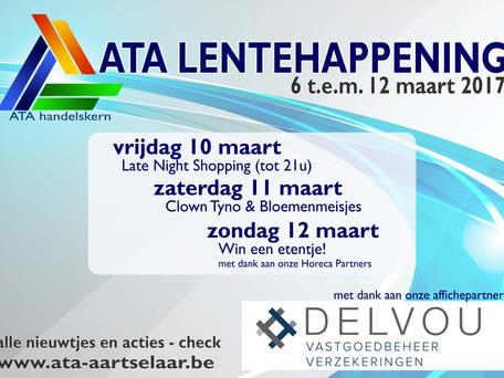 ATA Lentehappening 6-12 maart
