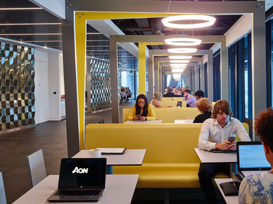 Aon's Smart New Office in the Iconic Leadenhall Building