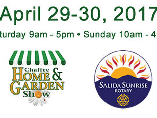 Join us at the Chafee Home & Garden Show, April 29-30, 2017
