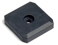 Rugged Waterproof RFID Passive Tag Iron Side for metal assets