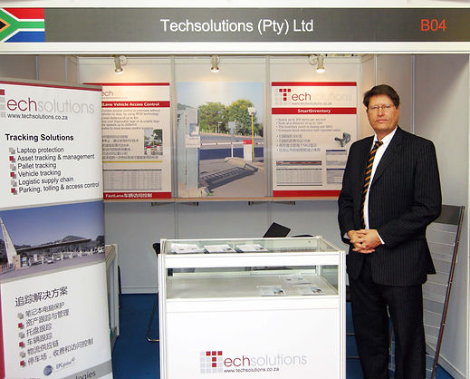 Techsolutions RFID Tracking Solutions China Expo